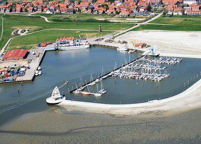Seehafenbruecke auf Juist