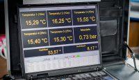 Messkoffer für die Erfassung von Wassertemperaturen auf verschiedenen Horizonten während schiffsgestützter Profilfahrten