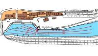 Installation plan for aeration tubes