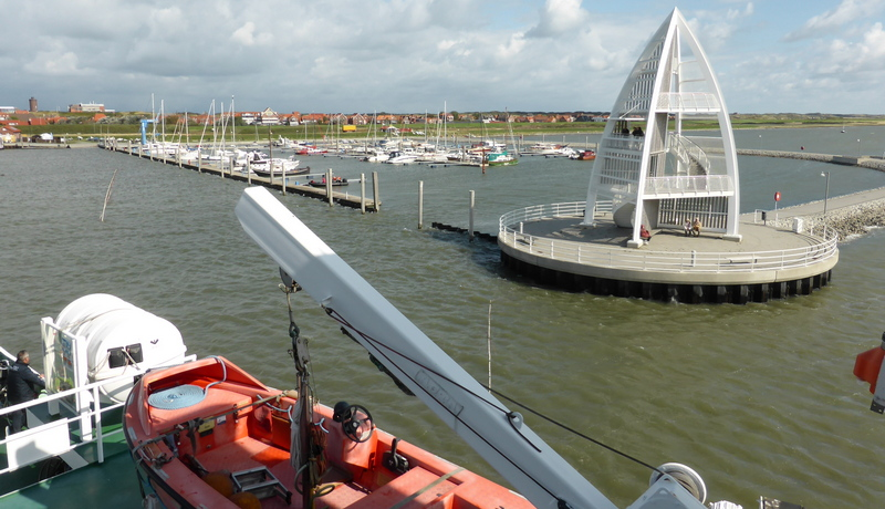 Der neue Sportboothafen von Juist