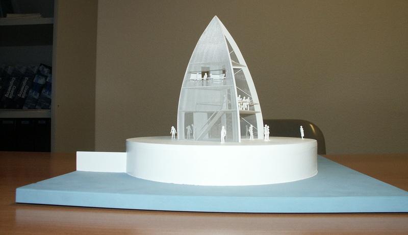 Modell des Wahrzeichens auf der Seebrücke