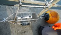 Temperatursonde mit Geräteträger und Auftriebskörper