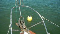 Wartungsarbeiten mit IMP-Arbeitsschiff