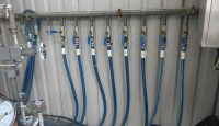System control for the oxygen content monitoring in water