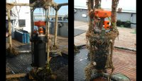 Strömungsmessgerät im Geräteträger
