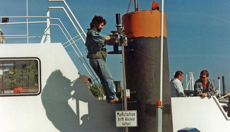 Installation eines Wellendrahtes