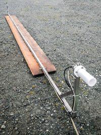 Wellendraht zur Messung von Seegang und Schiffswellen