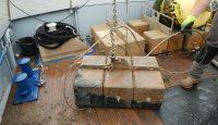 Schadensaufnahme (beschädigtes Stahlseil)