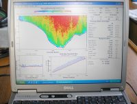 Data acquisition software for ADCP current measurements