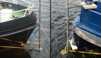 Messausrüstung am Schiff
