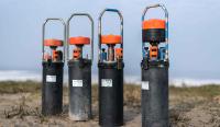 autark arbeitende Multiparametermessgeräte (Aanderaa); Parameterumfang: Strömung, Trübung, Salzgehalt, Druck, Temperatur
