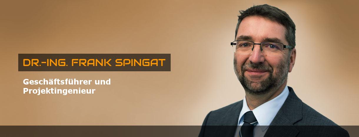 Dr.-Ing. Frank Spingat