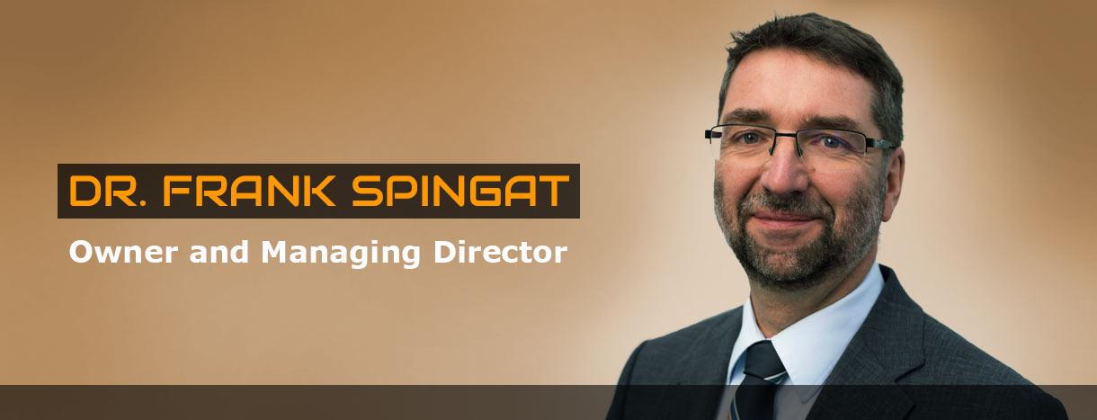 Dr. Frank Spingat CV